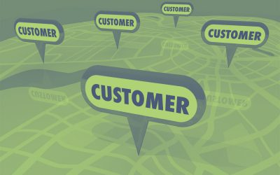 Where does customer location data come from?